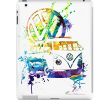 Volkswagen Kombi Splash iPad Case/Skin