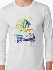 Volkswagen Kombi Splash © Long Sleeve T-Shirt