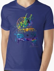 Volkswagen Kombi Splash © Mens V-Neck T-Shirt