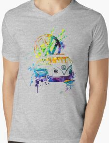 Volkswagen Kombi Splash © Mens V-Neck T-Shirt