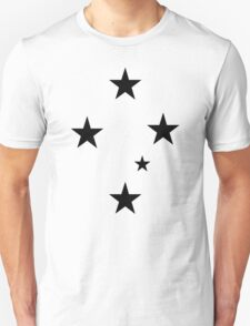 Southern Cross Black T-Shirt