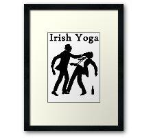 Irish Yoga Framed Print