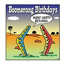 boomerang birthdays by Mark  Lynch