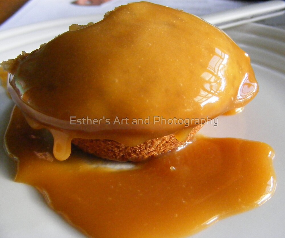 Sticky Date Pudding  by Esther's Art and Photography