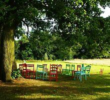 Take a seat - Hof ter Linden - Edegem by Gilberte