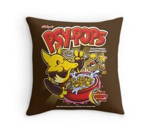 Psy-Pops Throw Pillow
