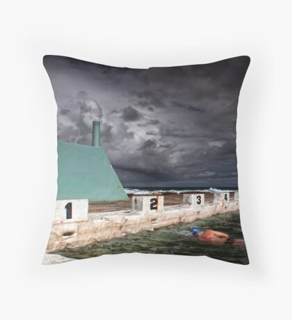 Psycho Summer Throw Pillow