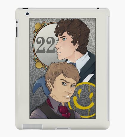 221B Locked iPad Case/Skin
