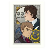 221B Locked Art Print