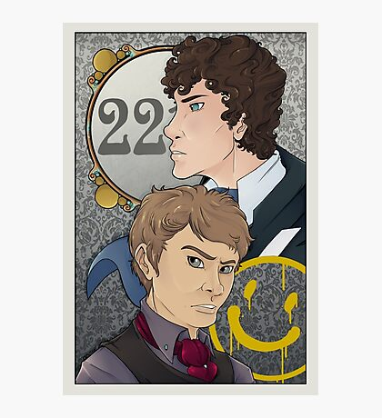 221B Locked Photographic Print