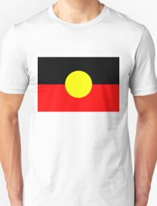 Aboriginal Flag Australia T-Shirt