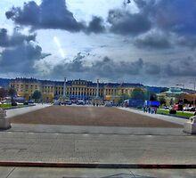Cloudly plaza by costy33