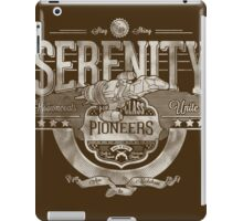 Space Pioneers - Silver iPad Case/Skin