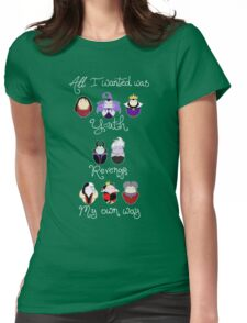 The Wicked Ladies Womens Fitted T-Shirt