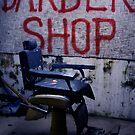 Barber Shop by Lesley Williamson