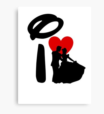 I Heart Happily Ever After Canvas Print