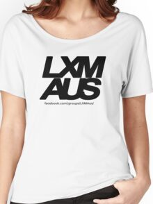 LXM Australia Merchandise - Black Women's Relaxed Fit T-Shirt