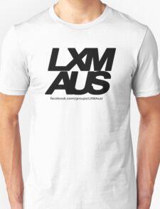 LXM Australia Merchandise - Black Unisex T-Shirt