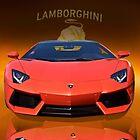 2012 Lamborghini Aventador - Front by DaveKoontz