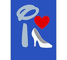 I Heart Cinderella Photographic Print