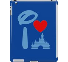 I Heart Sleeping Beauty (Inverted) iPad Case/Skin
