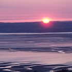 Sunset over Llanfairfechan by Michael Haslam