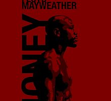 Money Mayweather_red by ches98