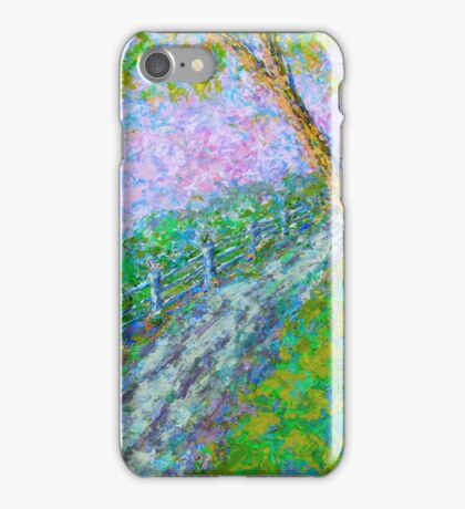 Country Lane iPhone Case/Skin