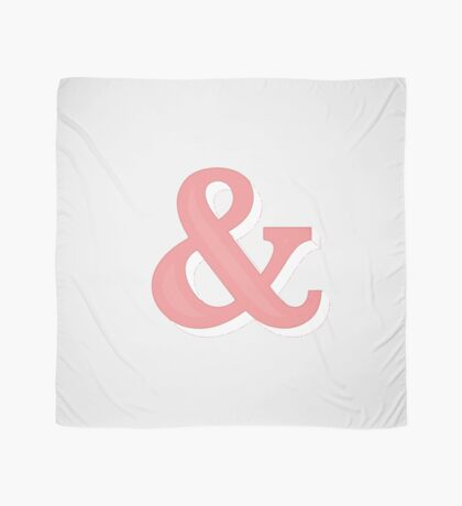 Just Ampersand Scarf