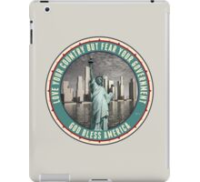 Fear Your Government iPad Case/Skin