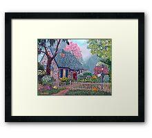 Essex House Cottage Framed Print