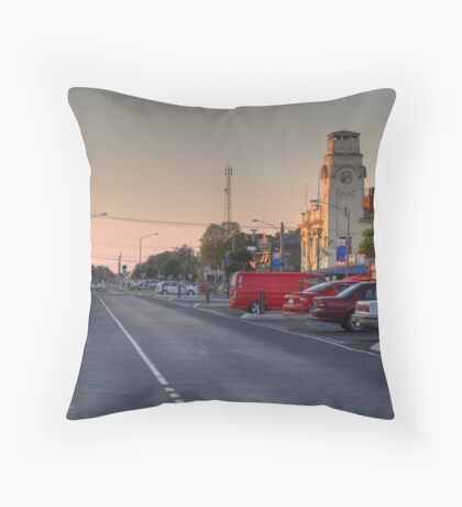 Yarrawonga Main Street Throw Pillow