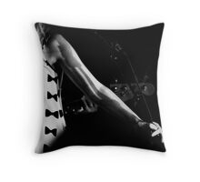 Structure and shadows make the music Throw Pillow