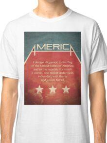 Pledge of Allegiance Classic T-Shirt