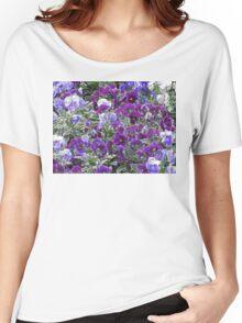 Field Of Purple Flowers 8420 Women's Relaxed Fit T-Shirt