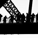 Bridge climbers by Alexander Meysztowicz-Howen