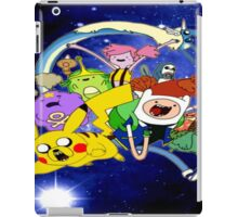 Adventure time pokemon nebula iPad Case/Skin