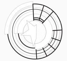 Stylised Prototype Shield One Piece - Short Sleeve