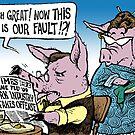 Swine's Fault by OscarEA