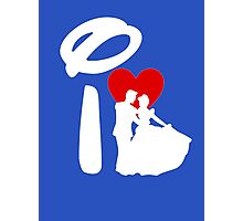 I Heart Happily Ever After (Inverted) Photographic Print