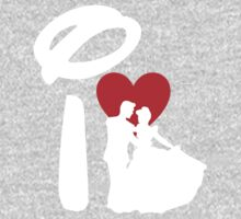 I Heart Happily Ever After (Inverted) Kids Clothes