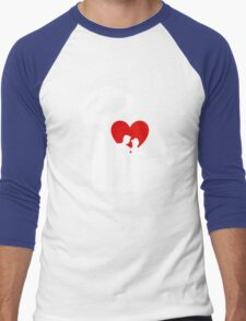 I Heart Happily Ever After (Inverted) Men's Baseball ¾ T-Shirt