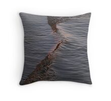 Little ripple Throw Pillow