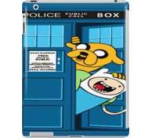 Adventure time police box iPad Case/Skin