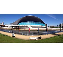 The London Aquatics Centre II Photographic Print
