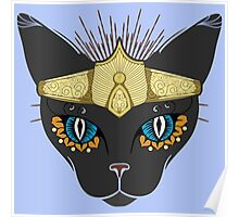 The Queen - Egyptian Cat  Poster