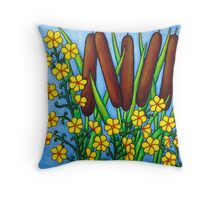 Wild Medley Throw Pillow