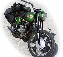 BSA Motorbike by Asterixphoto
