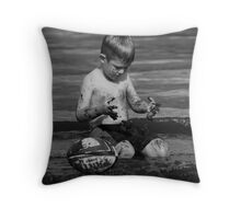 Mud is Fun! Throw Pillow