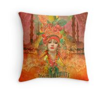 Tooty la Fruity Throw Pillow